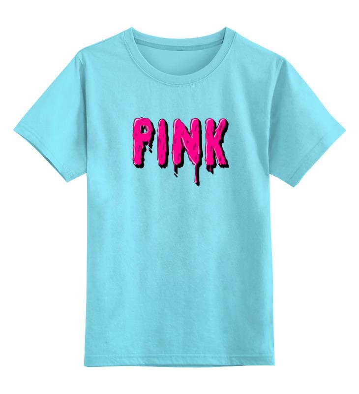 Детская футболка классическая унисекс Printio Pink детская сумка kenka wf 07 pink