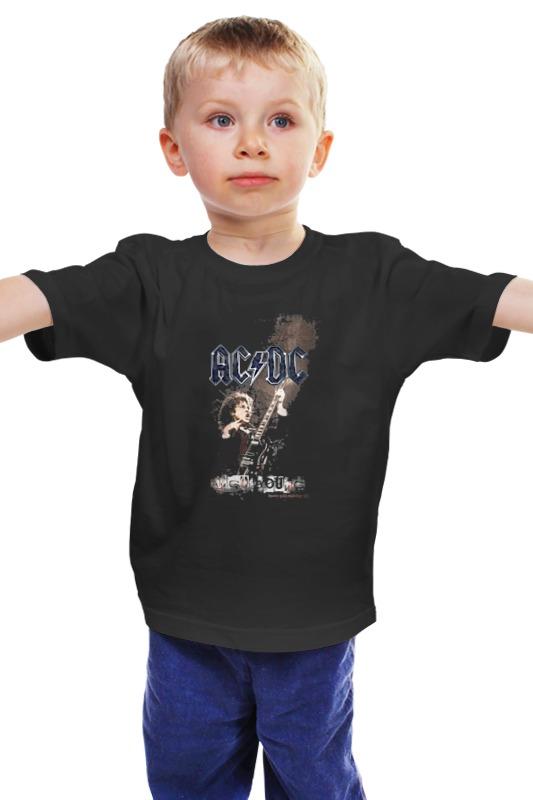 Детская футболка классическая унисекс Printio Ac/dc - angus young худи print bar ангус янг соло гитарист
