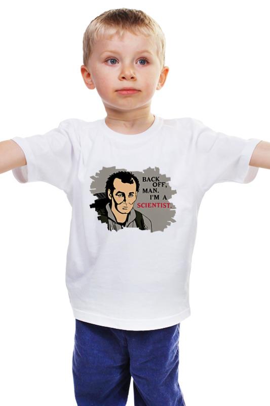Детская футболка классическая унисекс Printio Охотники за привидениями playmobil игровой набор охотники за привидениями питер венкман и ужасные собаки