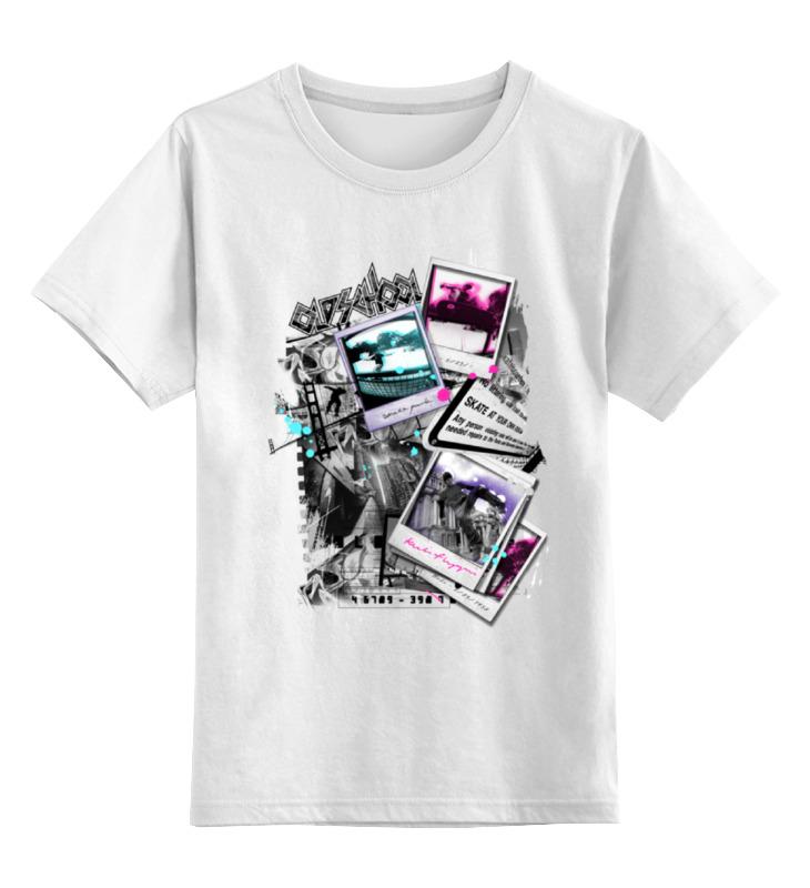 Детская футболка классическая унисекс Printio Old school
