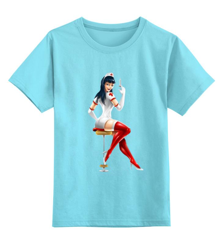 Детская футболка классическая унисекс Printio Медсестра детская футболка классическая унисекс printio медсестра