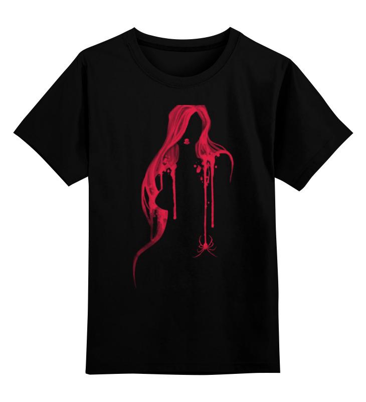 Детская футболка классическая унисекс Printio Чёрная вдова футболка с полной запечаткой женская printio чёрная вдова black widow