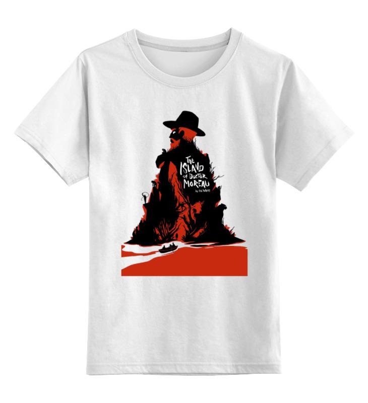 Детская футболка классическая унисекс Printio Doсtor moreau футболка wearcraft premium slim fit printio doсtor moreau