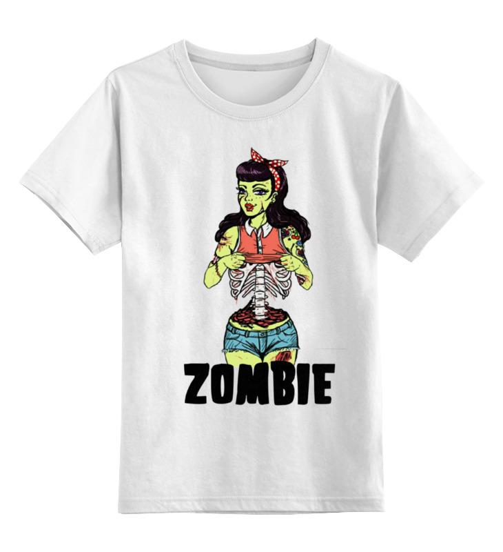 Детская футболка классическая унисекс Printio Zombie girl детская футболка классическая унисекс printio wat
