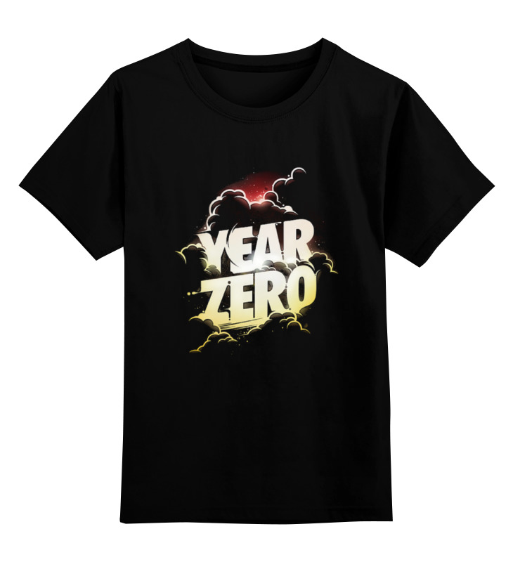 Детская футболка классическая унисекс Printio Year zero сумка year zero 9002 2015
