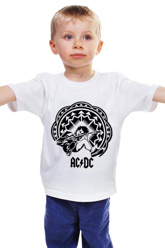 Детская футболка классическая унисекс Printio Ac/dc - spasm мультиметр uyigao ac dc ua18