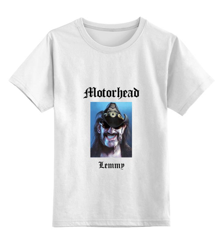 Детская футболка классическая унисекс Printio Motorhead - lemmy kilmister футболка wearcraft premium printio lemmy kilmister motorhead