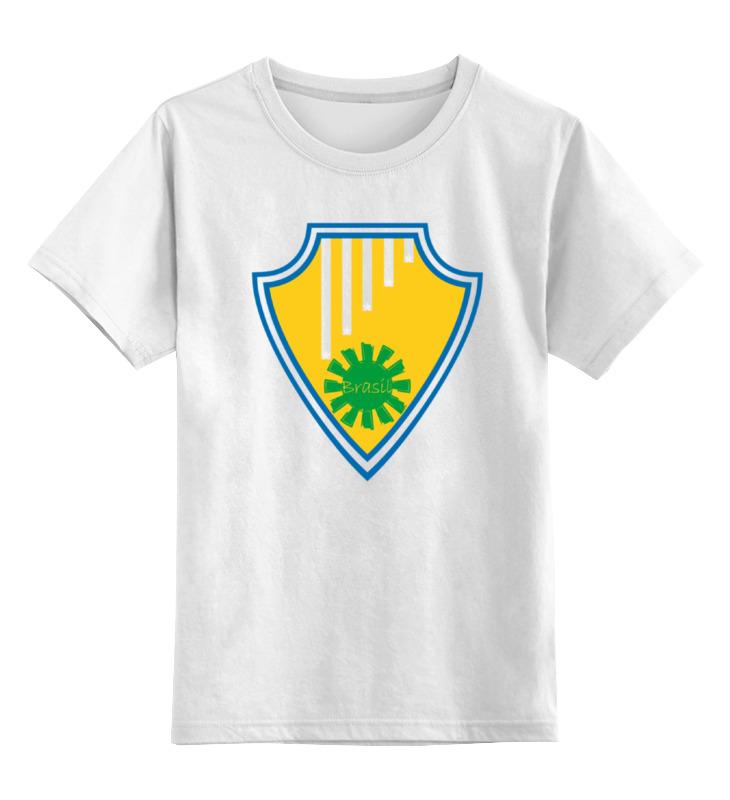 Детская футболка классическая унисекс Printio Бразилия детская футболка классическая унисекс printio бразилия