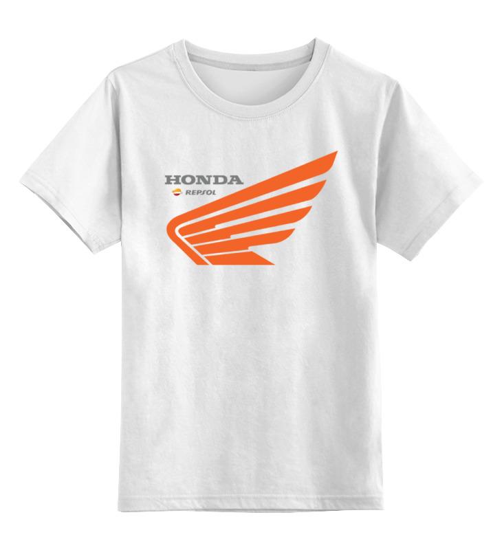 Детская футболка классическая унисекс Printio Honda repsol футболка honda