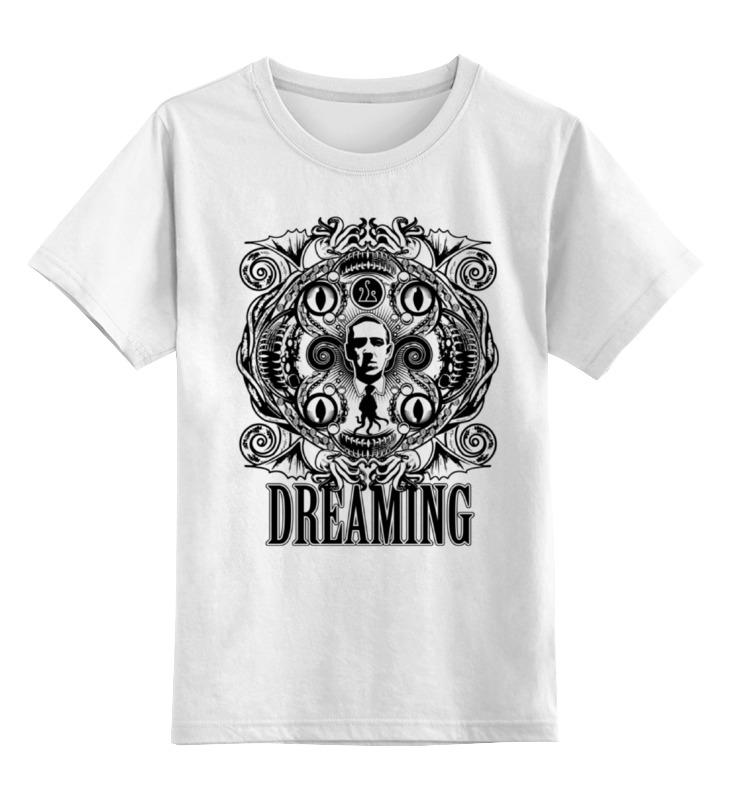 Детская футболка классическая унисекс Printio Лавкрафт кружка printio лавкрафт