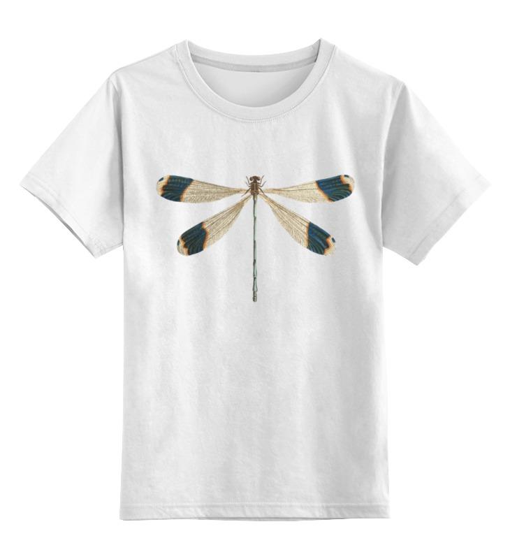 Детская футболка классическая унисекс Printio Стрекоза