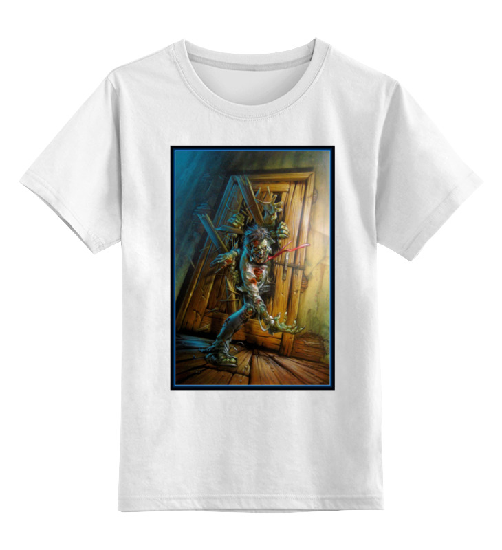 Детская футболка классическая унисекс Printio Zombie art детская футболка классическая унисекс printio zombie man