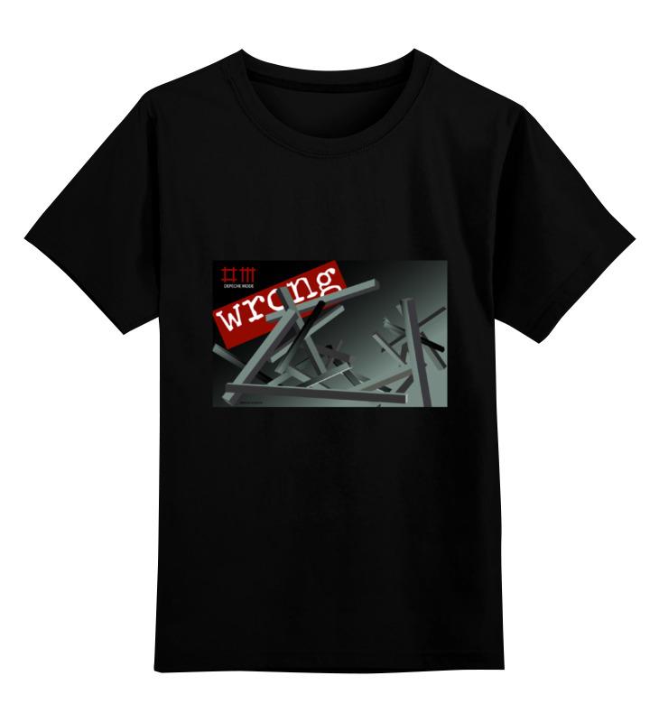 Детская футболка классическая унисекс Printio Depeche mode детская футболка классическая унисекс printio wrong hole