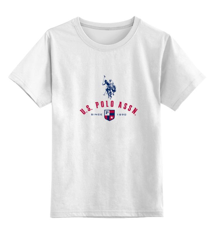 Детская футболка классическая унисекс Printio Us polo футболка детская 259 2015 polo