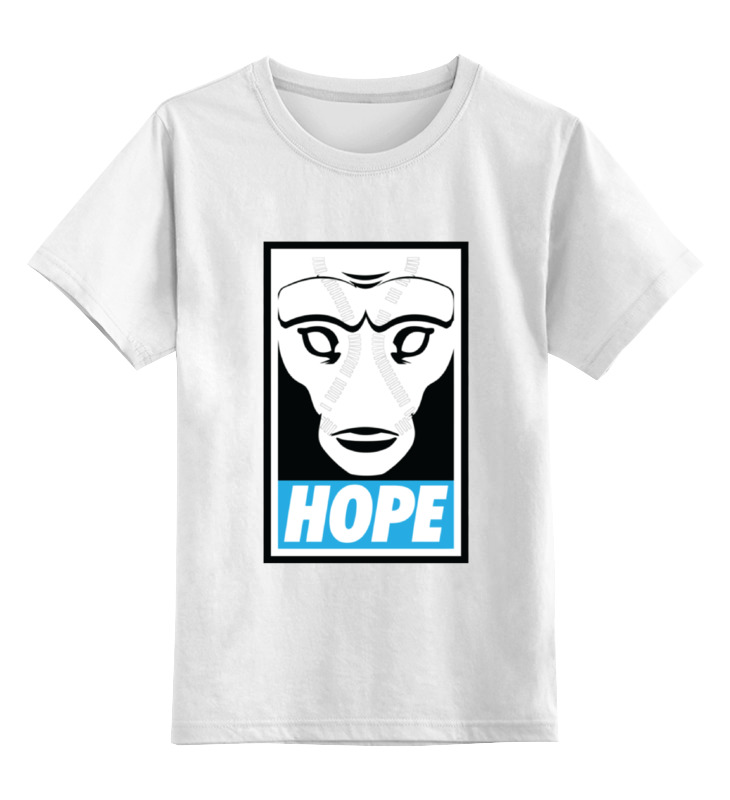 Детская футболка классическая унисекс Printio Святой уолкер (синий фонарь) цена