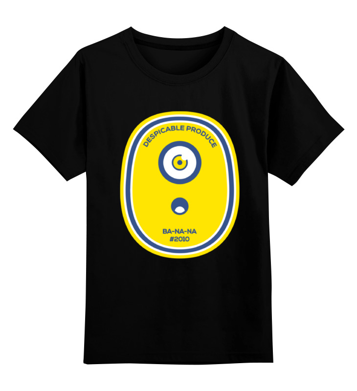 Детская футболка классическая унисекс Printio Миньон (banana) детская футболка классическая унисекс printio banana