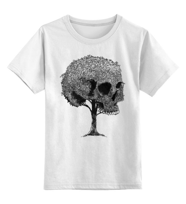 Детская футболка классическая унисекс Printio Skull art детская футболка классическая унисекс printio skull 3