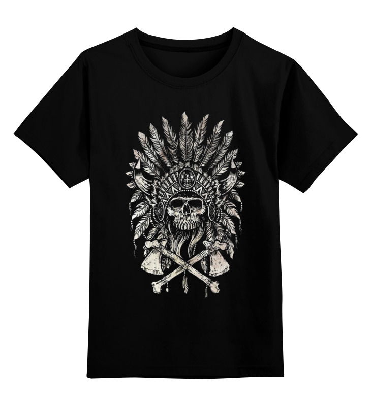 Детская футболка классическая унисекс Printio Томагавк томагавк омаха