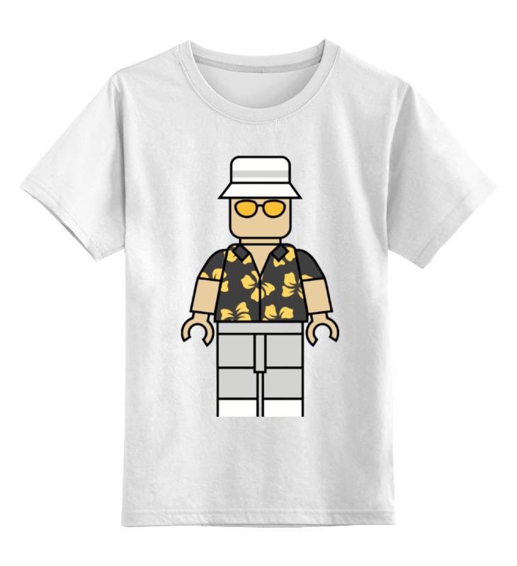 Детская футболка классическая унисекс Printio Рауль дюк (страх и ненависть в лас-вегасе) цена и фото