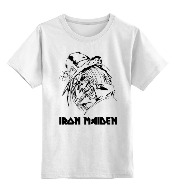 Детская футболка классическая унисекс Printio Iron maiden cd iron maiden a matter of life and death