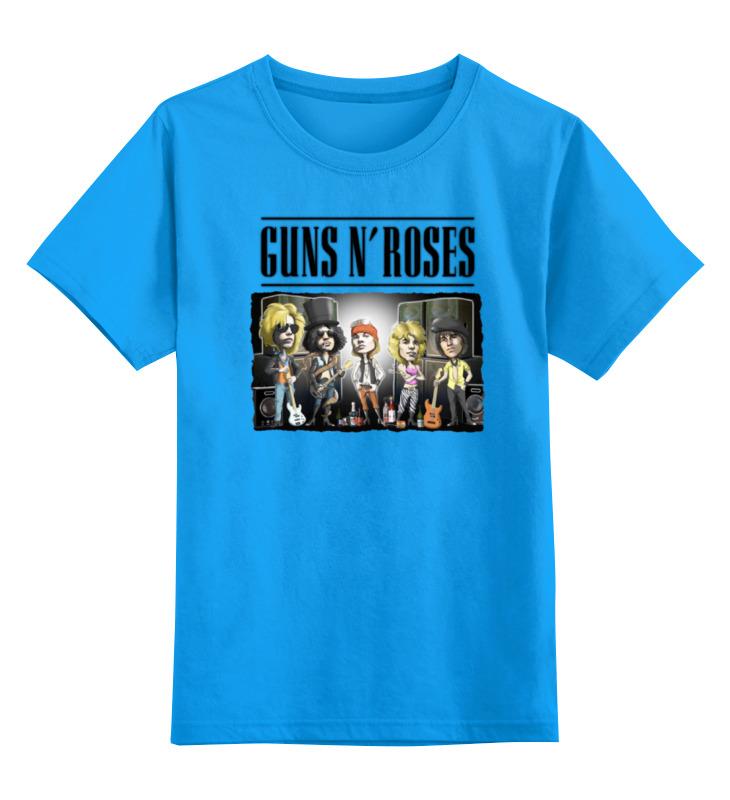 Детская футболка классическая унисекс Printio Guns n' roses леггинсы printio roses on blue