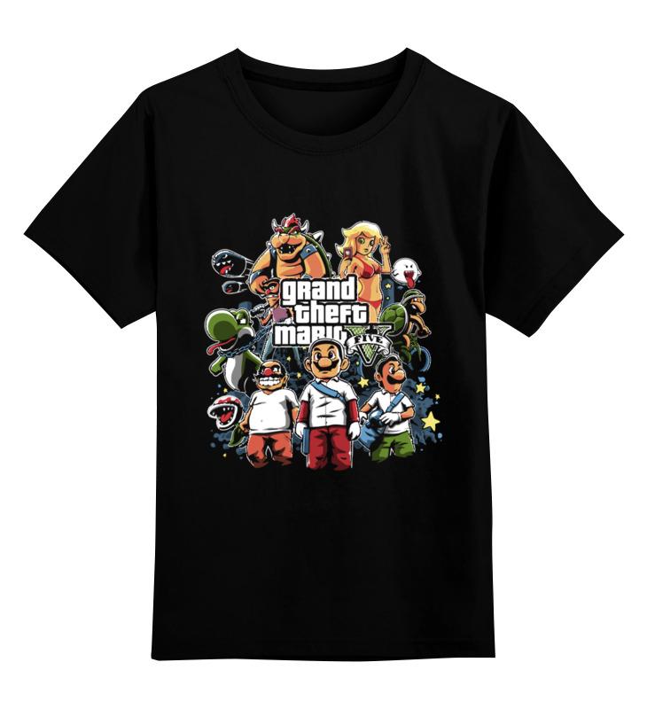 Фото - Детская футболка классическая унисекс Printio Марио - gta детская футболка классическая унисекс printio lcpd gta