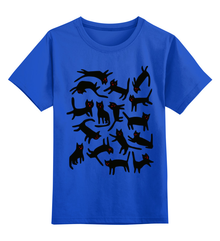 Printio Коты. детская футболка классическая унисекс printio новогодние коты