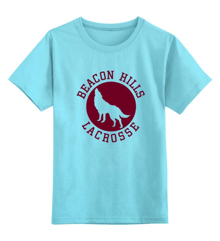 Детская футболка классическая унисекс Printio Teen wolf - beacon hills майка классическая printio teen wolf beacon hills