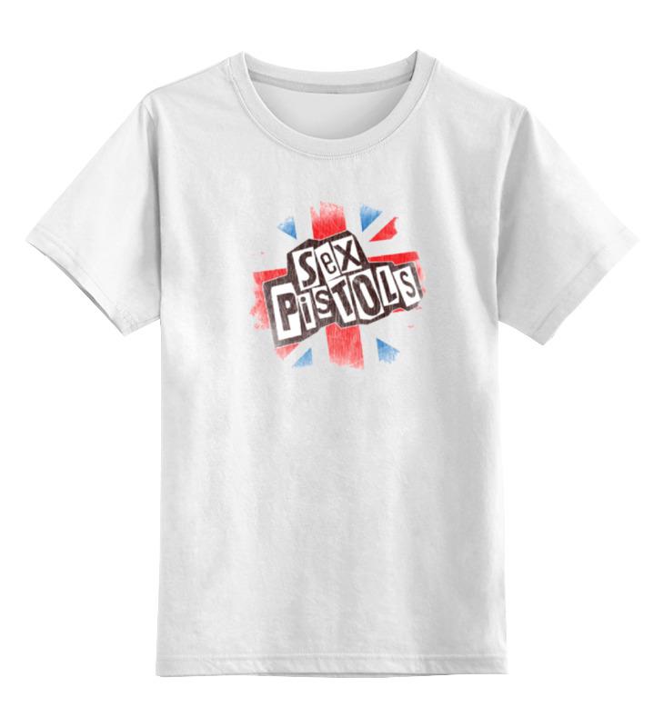 Детская футболка классическая унисекс Printio Sex pistols