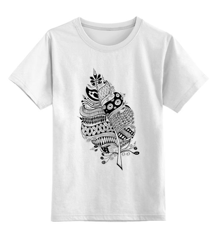 Детская футболка классическая унисекс Printio Doodle-лист