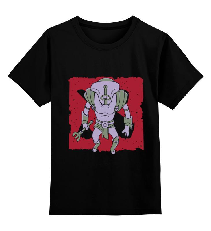 Детская футболка классическая унисекс Printio Faceless void skulduggery pleasant the faceless ones