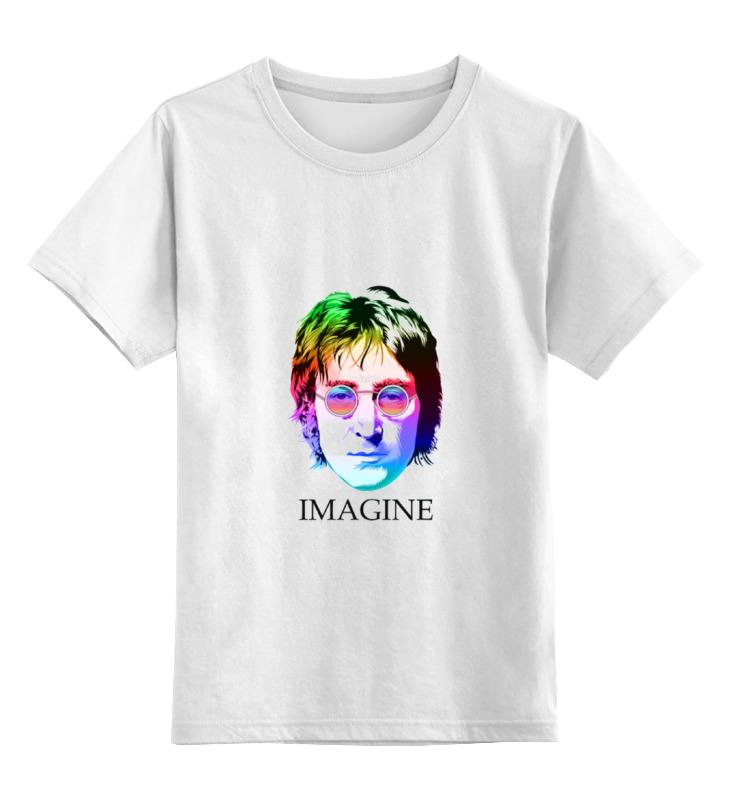 Детская футболка классическая унисекс Printio john lennon детская футболка классическая унисекс printio художник