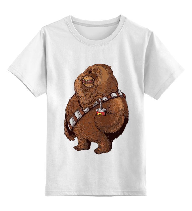 Детская футболка классическая унисекс Printio Fat chewbacca лонгслив printio fat chewbacca