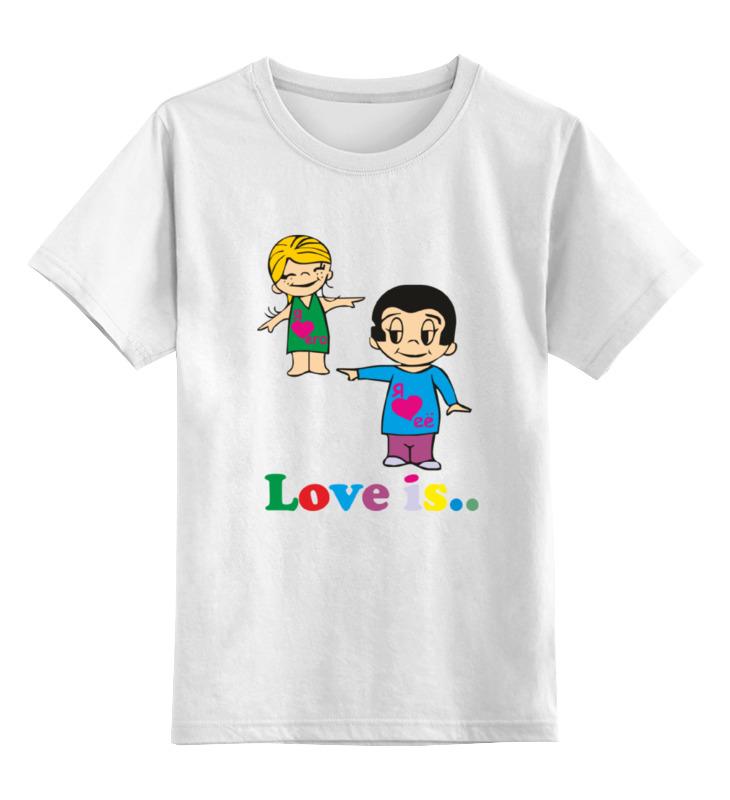 Детская футболка классическая унисекс Printio Love is... детская футболка классическая унисекс printio мачете
