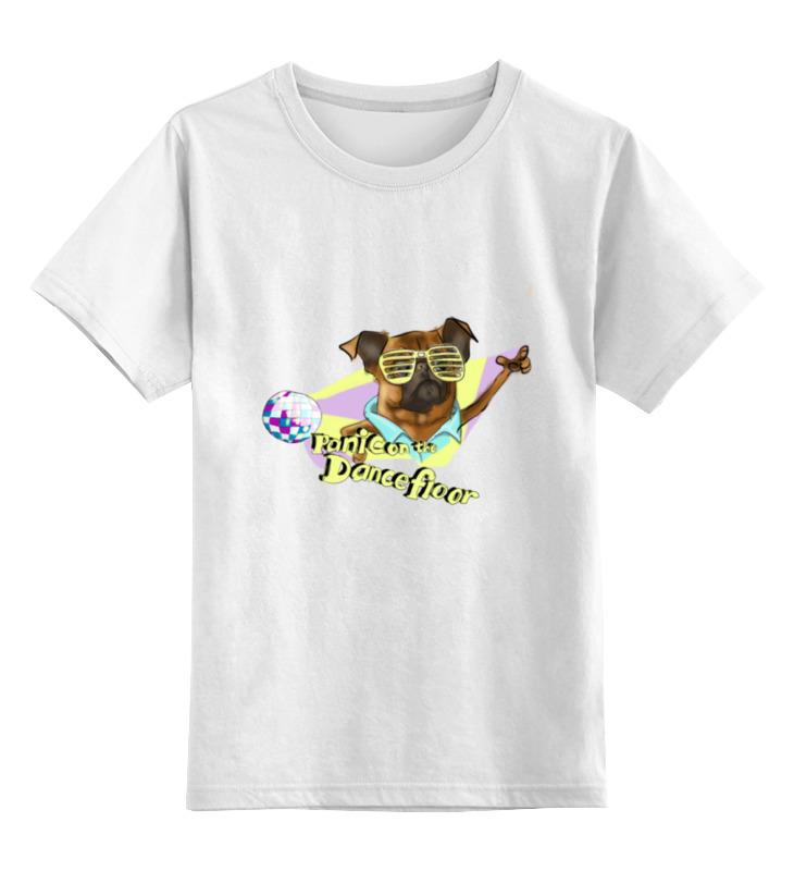 Детская футболка классическая унисекс Printio Panic on the dance floor цена