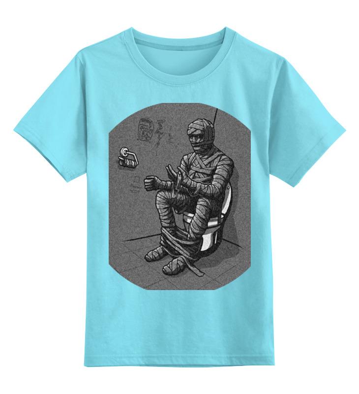 Детская футболка классическая унисекс Printio Mummy