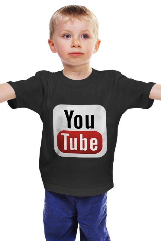 Детская футболка классическая унисекс Printio Youtube детская футболка классическая унисекс printio мачете