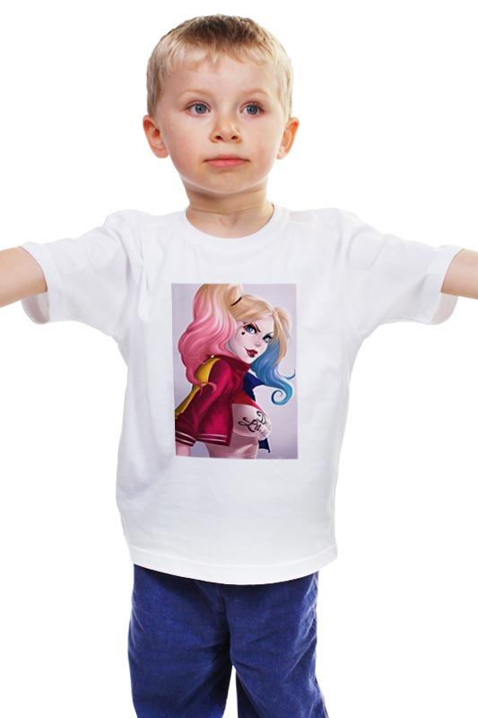 Детская футболка классическая унисекс Printio Харли квинн детская футболка классическая унисекс printio комиксы