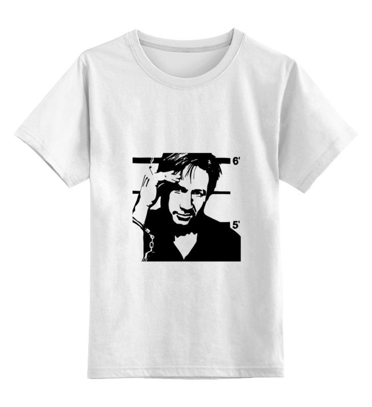Детская футболка классическая унисекс Printio Hank moody (хэнк муди), californication цена и фото