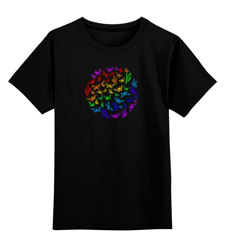 Детская футболка классическая унисекс Printio Бабочки в животе
