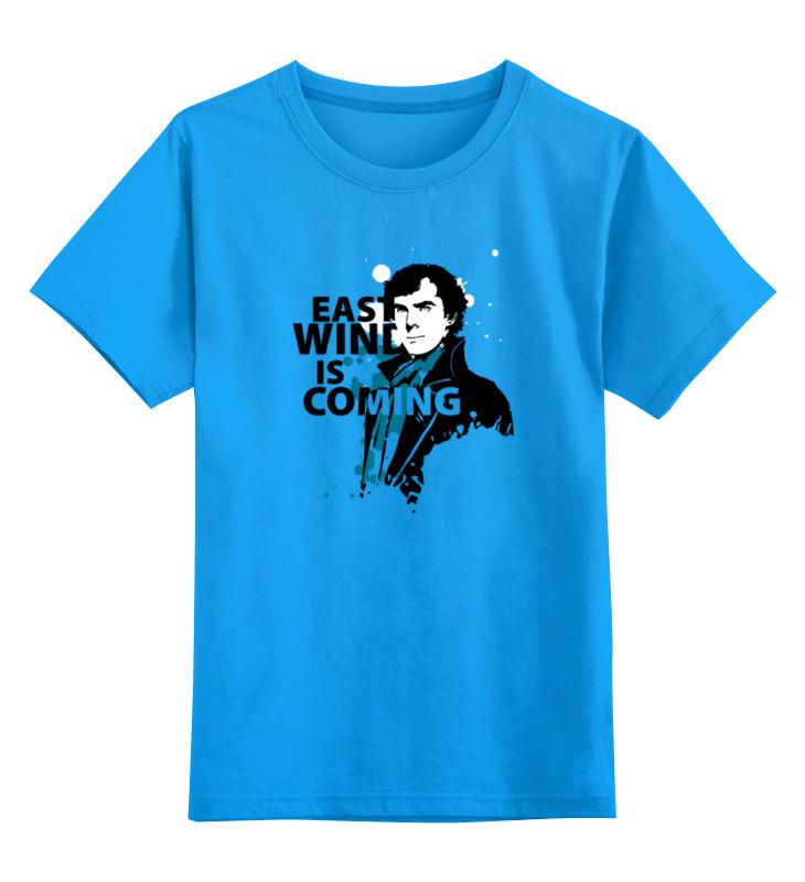 Детская футболка классическая унисекс Printio Шерлок холмс (sherlock holmes) футболка классическая printio шерлок холмс sherlock
