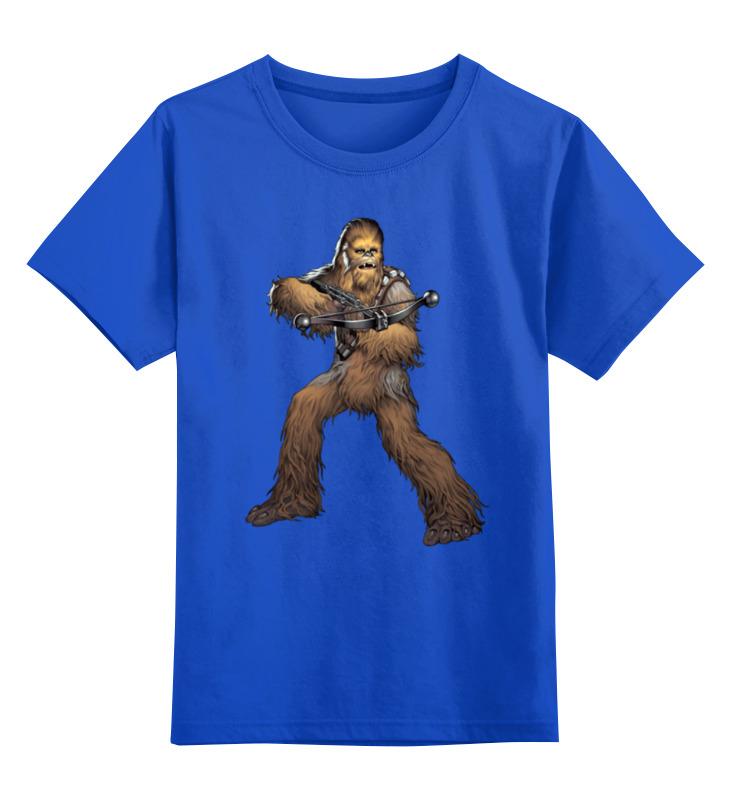 Детская футболка классическая унисекс Printio Chewbacca (star wars) данкова регина е умные зверики