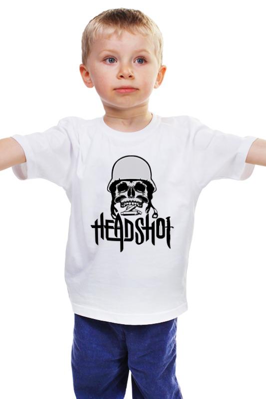 Детская футболка классическая унисекс Printio Headshot детская футболка классическая унисекс printio мачете