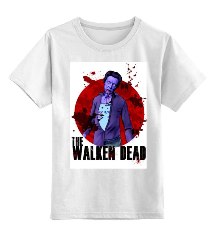 Детская футболка классическая унисекс Printio Ходячие мертвецы детская футболка классическая унисекс printio the walking dead