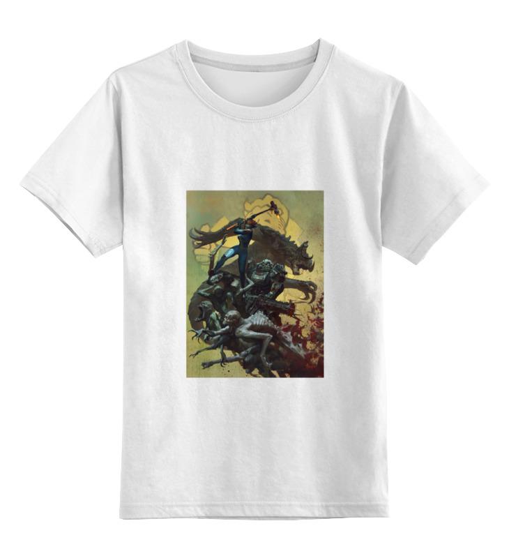 Детская футболка классическая унисекс Printio Fallout 4