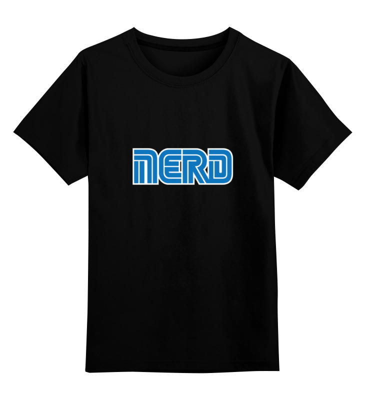 Детская футболка классическая унисекс Printio Nerd (sega) майка классическая printio nerd sega