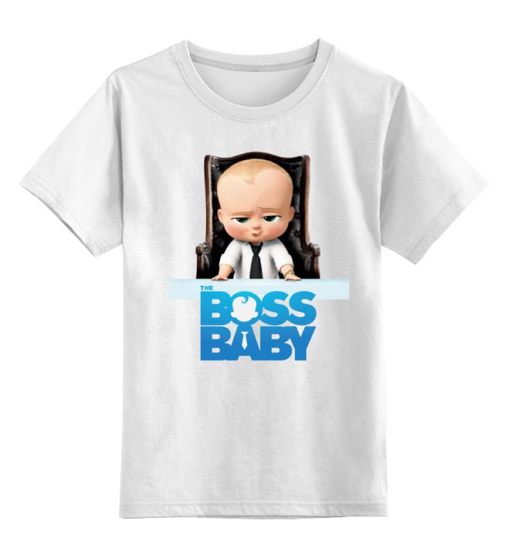 Детская футболка классическая унисекс Printio Босс-молокосос / the boss baby