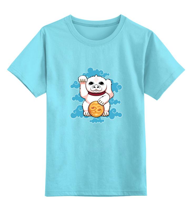 Детская футболка классическая унисекс Printio Lucky dragon футболка tintin lucky