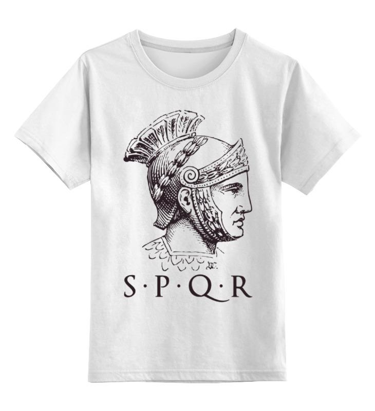 Детская футболка классическая унисекс Printio Sprq: legion