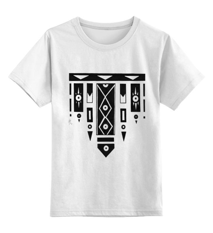 Детская футболка классическая унисекс Printio Геометрия вещей